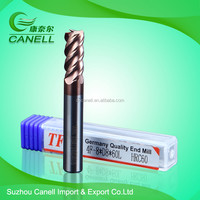 CNC cutting tool solid carbide end mills