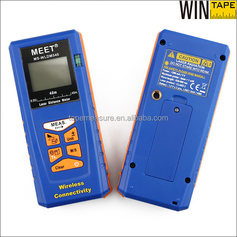 Laser Electronic Distance Measurement Instrument With Bluetooth