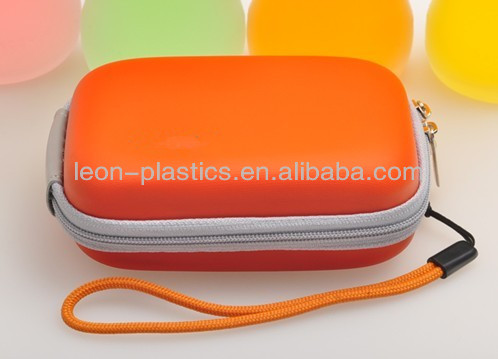 waterproof hard plastic eva camera case
