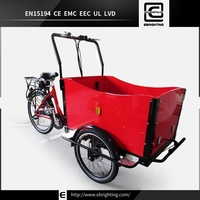 rain cover van front load tricycles BRI-C01 250w 36v brushless bicycles with three wheels