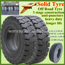 Well-reputed 12.00-20 Solid Tire atv Tires, Military Off Road Truck Tires