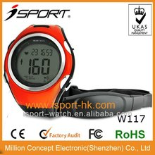 Heart Rate Monitor with Chest Belt Watch Supports Time Function and Stopwatch Function