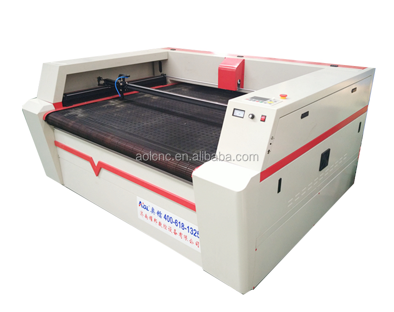 scanner camera fabric Laser cutting machine fabric strip cutter machine CE FDA