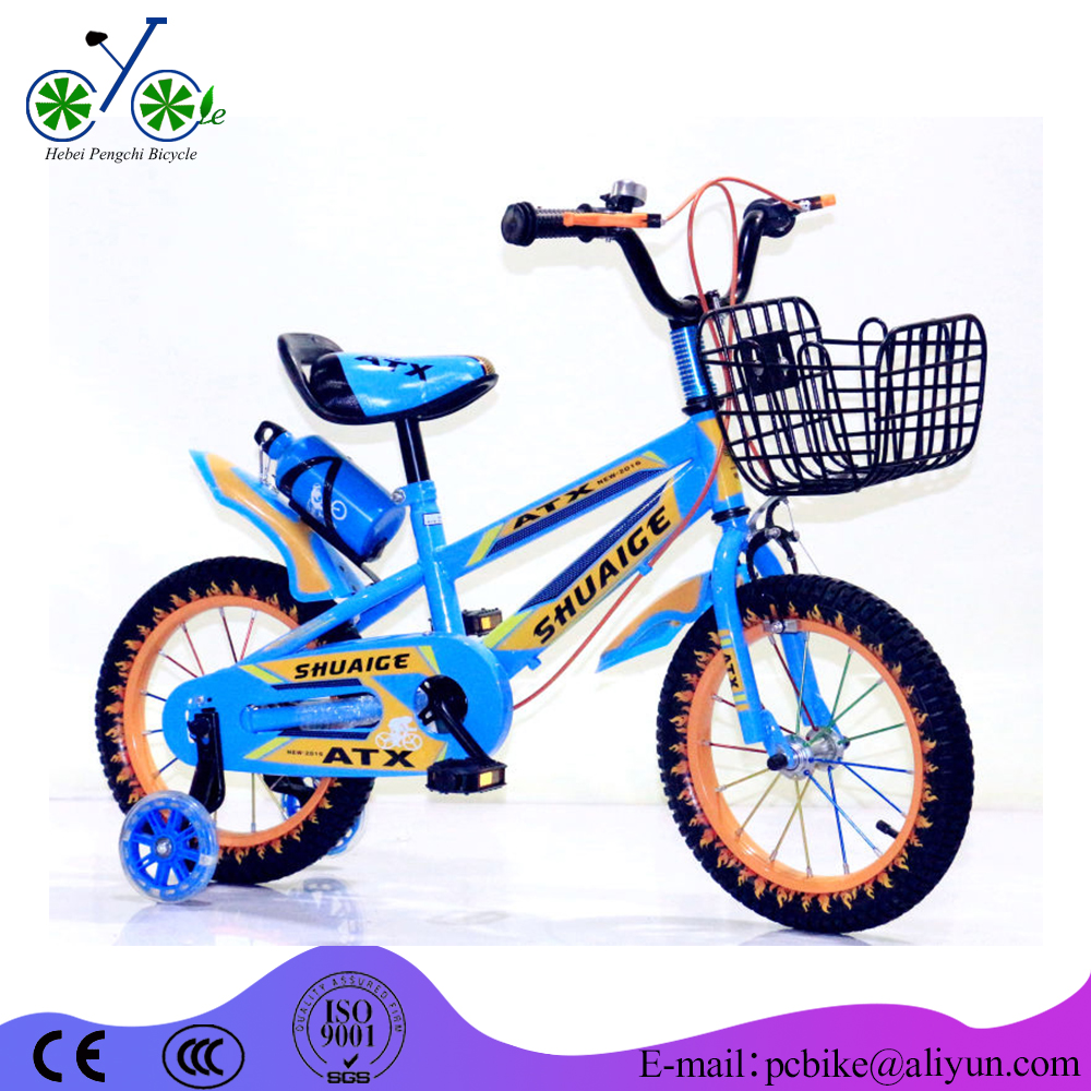 Beautiful pictures of kids bike / four wheels children bicycle seat / cheap lightweight kids plastic bike with Foam tire