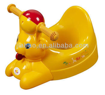 Baby potty training /toddler potty chair in funny animal style with ASTM F963-03 baby product