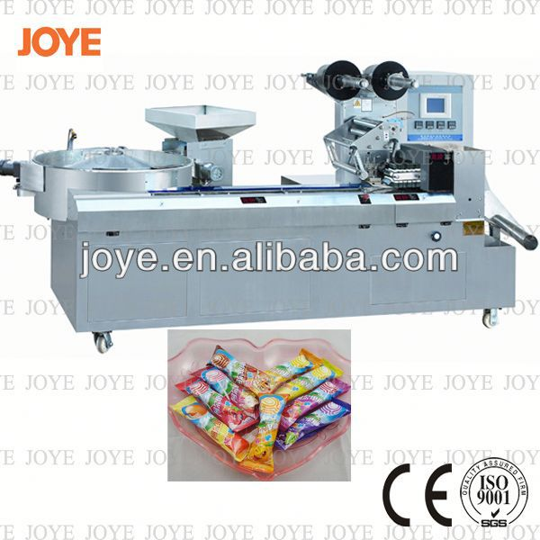 Best Quality Full Ball Lollipop Pillow Packing Machine JY-1200/DXD-1200