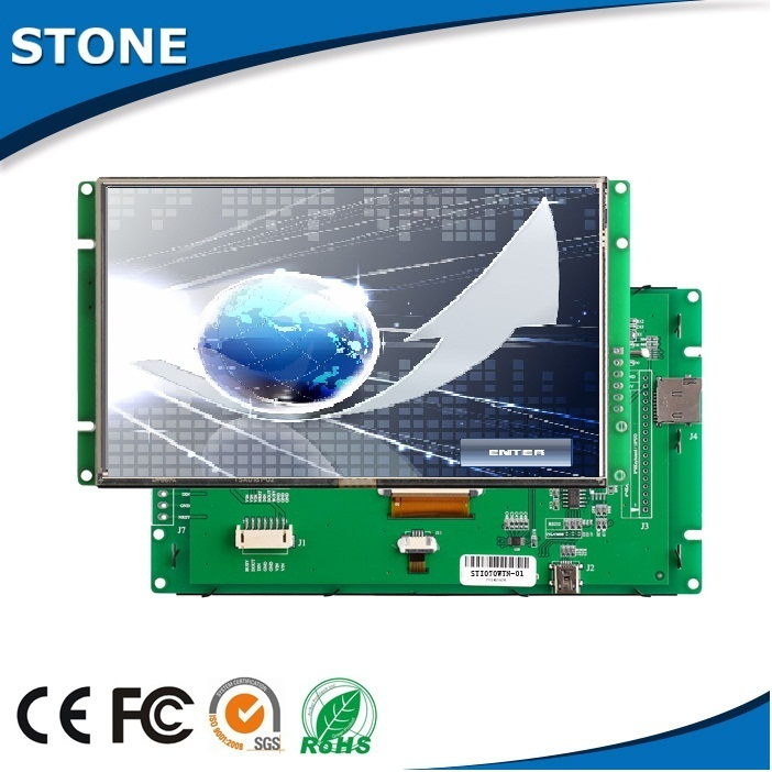 "touch screen lcd tft 10.1"" mcu interface controller"