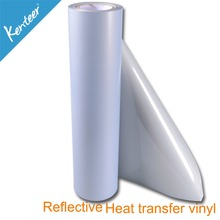 Kenteer Silver high Reflective Heat Transfer Vinyl Film