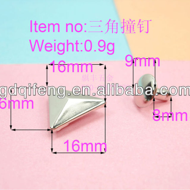 Wholesale all kinds of new products of sheet iron triangle nail