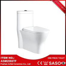 Wholesale Alibaba High Volume Flush Siphonic Closet 1 Piece Toilet