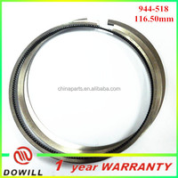 hotsale 116.50mm ring set, 944-518 piston ring set, motor parts