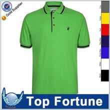 Provide OEM service fashion polo collar tshirt design for men