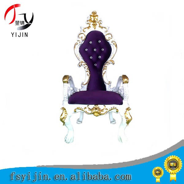 New design Gold Throne Chairs For Sale