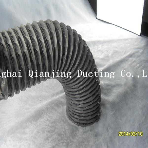 Different thickness aluminium foil flexible duct 4 inches aluminum flexible insulated ductwork