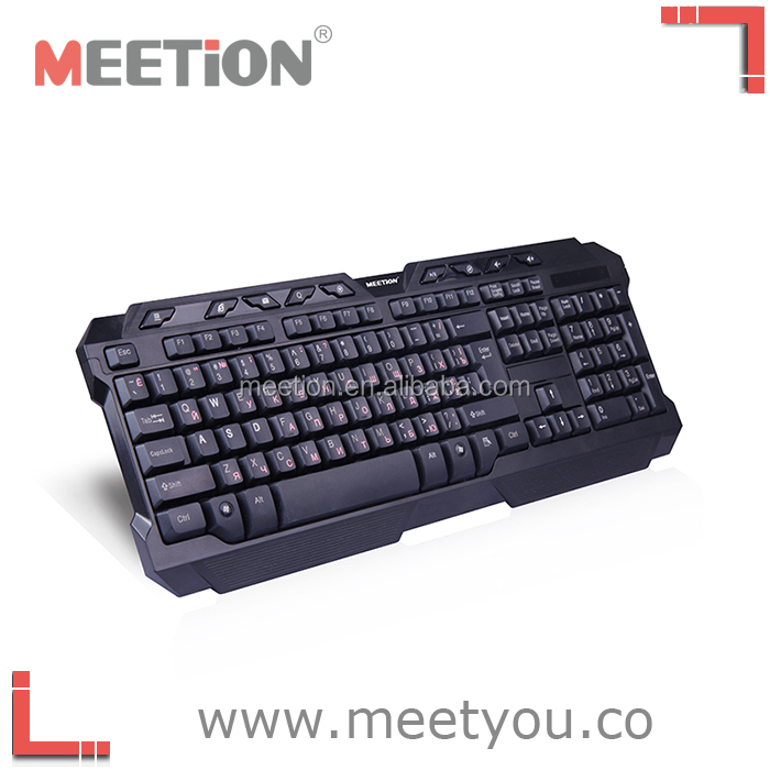 2016 latest wired backlit keyboard to gamer and the keyboard can be customised to any layouts