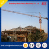 fixed construction tower crane, telescopic cage 6ton building lifting crane