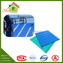 China Factory Fast Installation Corrugated Plastic Roof Sheet