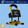 portable colorful aluminum 10 w rechargeable led flood work light