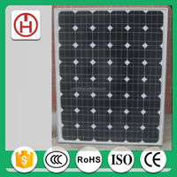 12v 130w mono solar panel cheapest from China factory