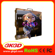 rental aluminum die-casting 640mm*640mm indoor usage design led display cabinet for p2.5 led module