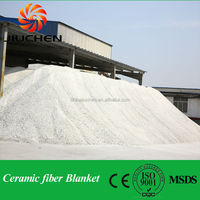 light weight heat resistant materials 25mm thick aluminum silicate fiber panel