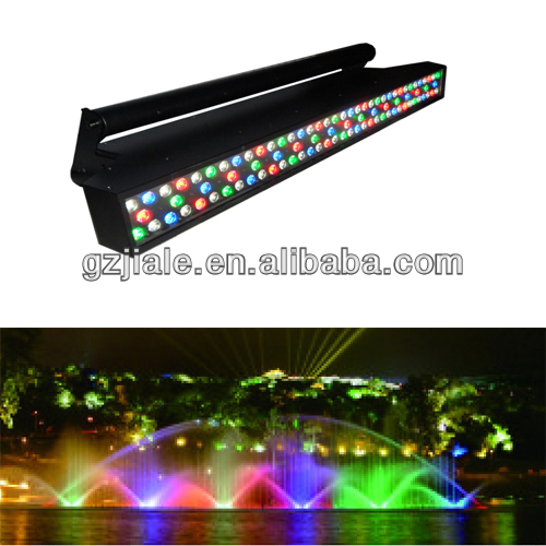 Slim 90pcsx3w RGBW LED outdoor wall washer Panel Bar Decoration Stage Bar