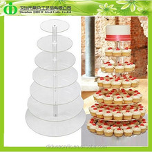 DDC-0241 Trade Assurance 7 Tier Acrylic Wedding Cake Stand
