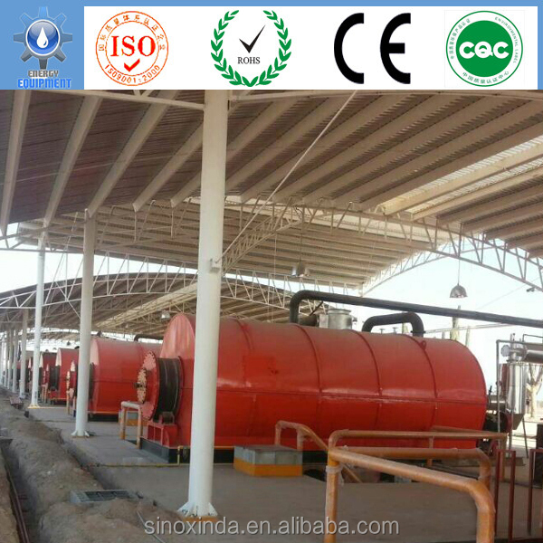Xinda New Energy fast pyrolysis of biomass making diesel from plastic
