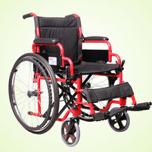 best seller manual pneumatic tire elderly folding wheelchair
