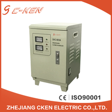 Cken China Factory Wholesale SVC 5KVA Single Phase Vertical AC Servo Automatic Voltage Stabilizers