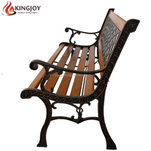 Best Selling Outdoor Park Bench with Cast Iron Frame