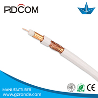 high quality low signal loss types of electrical underground cables pvc pe lszh jacket coaxial cable rg11/rg6 coaxial cable