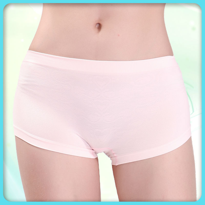 Yiwu seamless knitting women cotton underwear