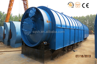 No waste production old tyre recycling plant with CE ISO