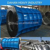 Concrete cement pipe making steel moulds for drain/ road/ construction