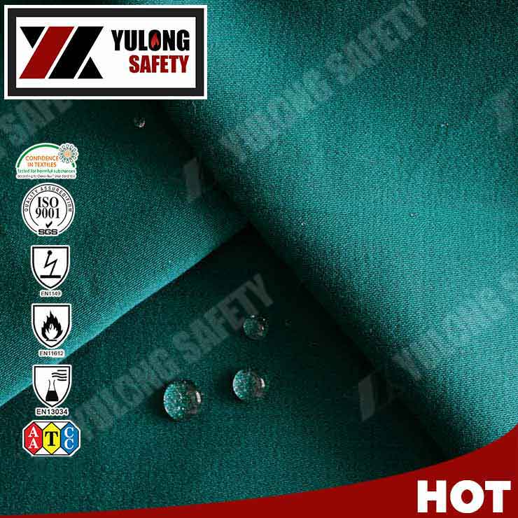 100% Cotton Material Durable Environmental Fireproof Waterproof Workwear Textile buy Fabric from China