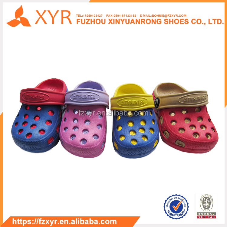 XYR Cheap fashion outdoor waterproof EVA breathable best clogs