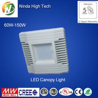 Replacement metal ul led canopy light
