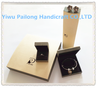 Professional customied logo plastic jewelry box