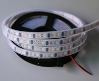 5m DC5V WS2801 32leds/m with 32pixels/m led digital strip;waterproof in silicon tube;IP66;addressable;RGB full color