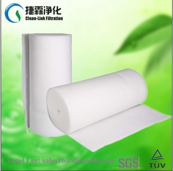G3 G4 polyester fabric pre synthetic material furnace air filter