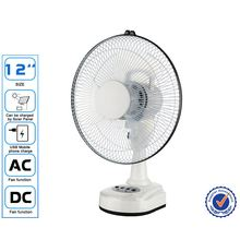 Cheap price Emergency AC/DC table Fan oscillating fan