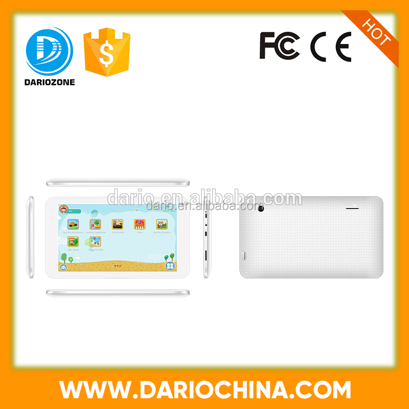 Cheap china computers learning 7 inch tablet pc promotion gifts for children