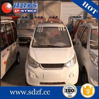 Approved 4 wheel passenger special electric mini vehicle