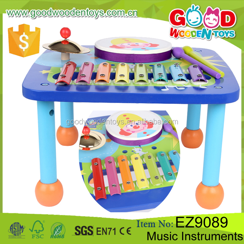 Multi-function Good Quality Woooden Baby Musical Toys OEM/ODM Educational Music Instruments for Kids
