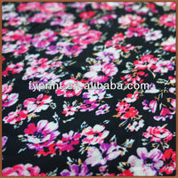 Factory Direct Digital Printed Velvet Satin Polyester Material 58/60""