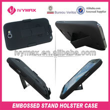 Holster Combo Hard Case Cover for Samsung Galaxy note 2 with Kick-Stand