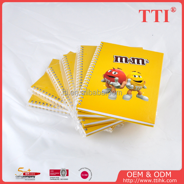 Sedex SMETA 4 Pillar audit good quality A5 wiro paper notebook