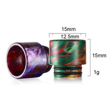 new products 2018 popular items epoxy resin rt25 melo tfv12 tfv8 tank drip tip for 810 size atomizer vape cartridge