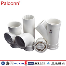 PVC Sanitary Pipes and Fittings for waste water drainage system DIN Standard